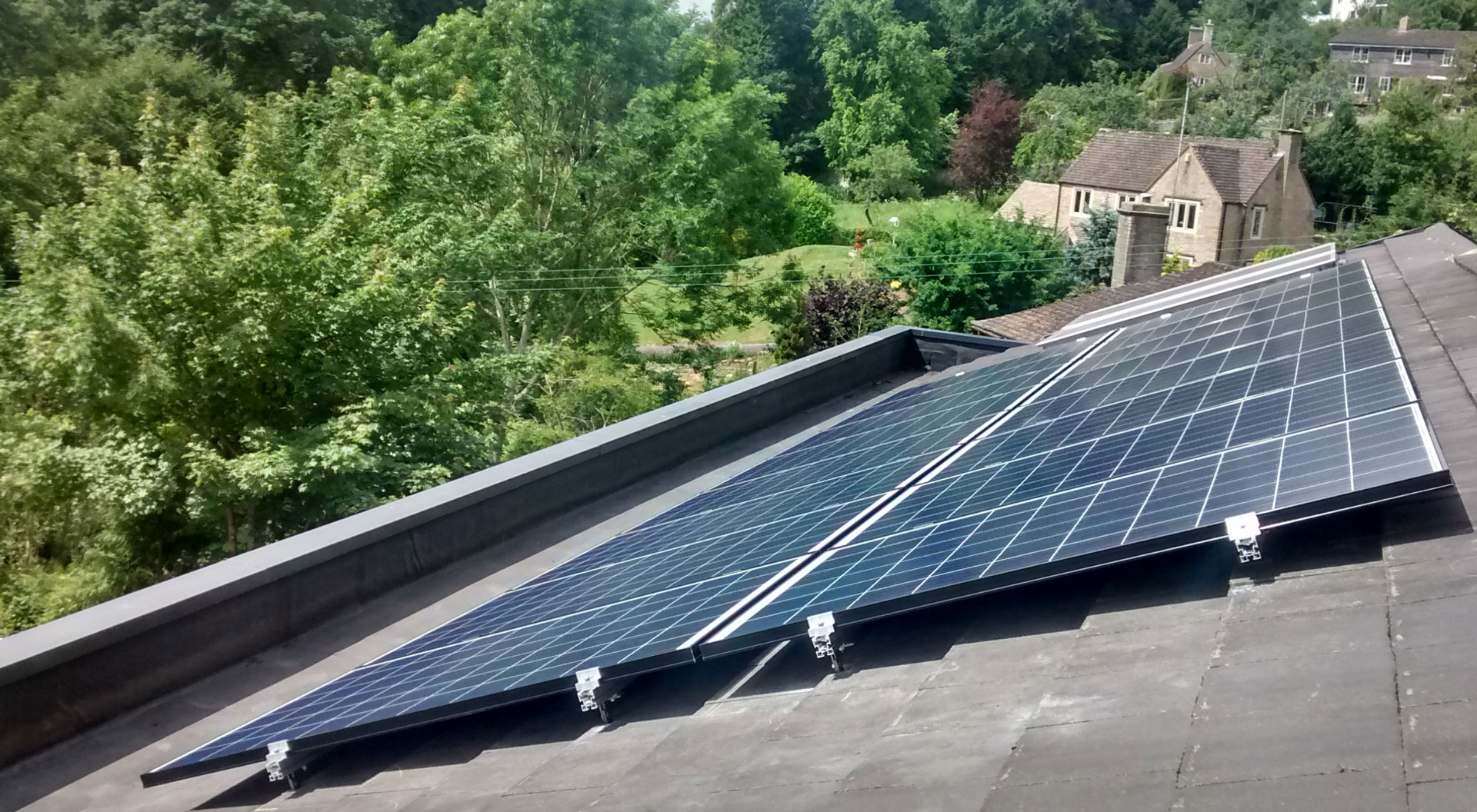 commercial solar thermal from greenshop solar in gloucestershire