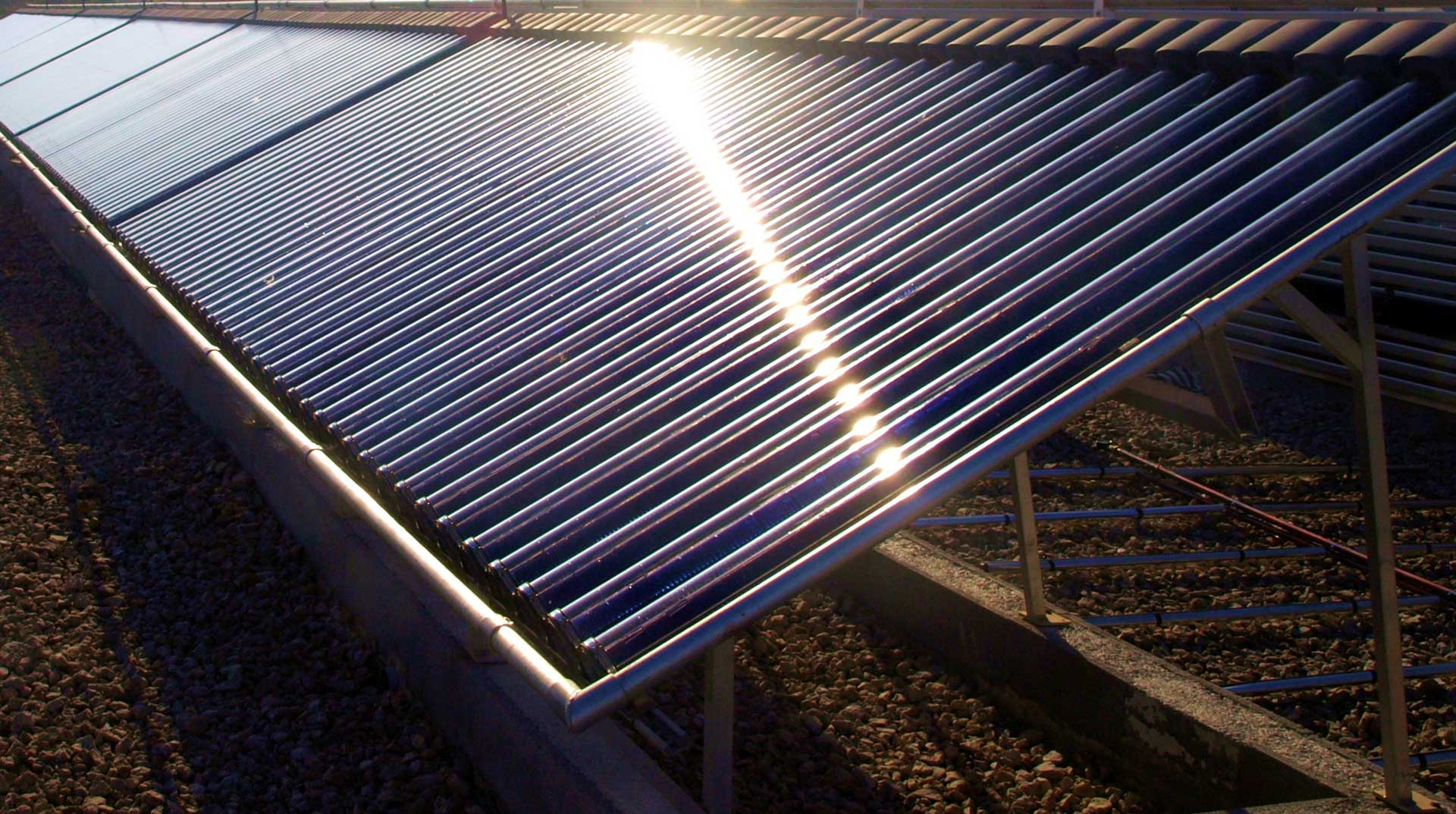 domestic solar thermal from greenshop solar in gloucestershire